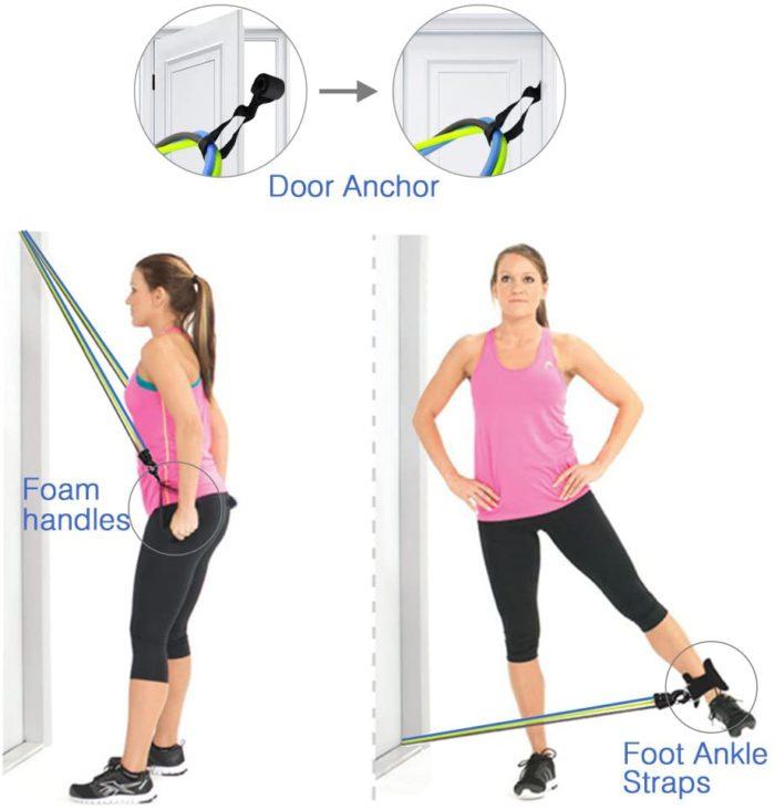gomas para ejercicio