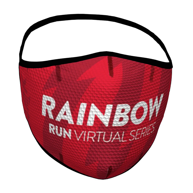 Macarilla deportiva reutilizable Rainbow Virtual Series