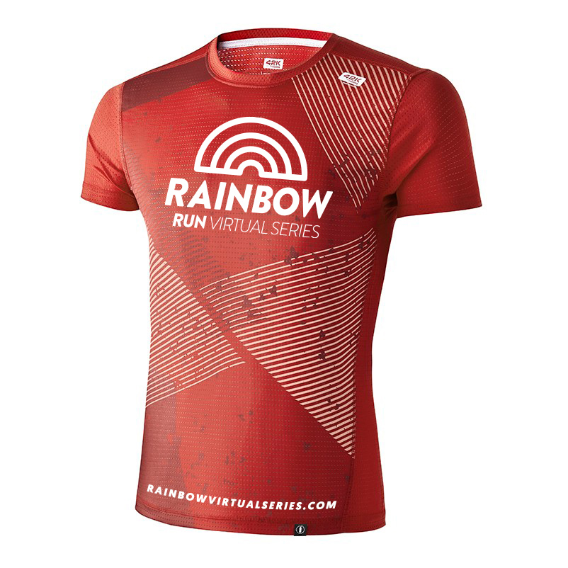 Camiseta técnica 100% reciclada Rainbow Virtual Series