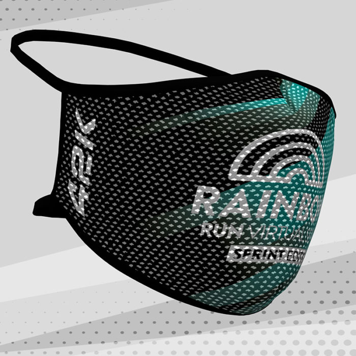 Macarilla deportiva reutilizable Rainbow Virtual Series