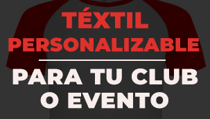 Téxtil personalizable para club o evento